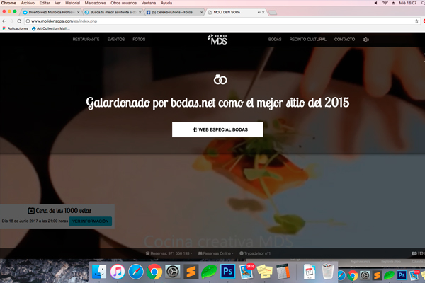 Web y APP que ganó el premio Palma Activa de emprendedores