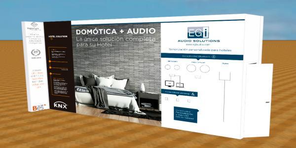 Hemos realizado el diseño y montaje de stand de Interhotel